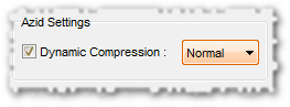 [x] Dynamic Compression: normal